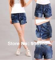 New Sale Women's Shorts denim Jeans/Summer Sexy Ladies' harem Denim Shorts/Casual Low Waist Slim Trousers/free shipping/WtQ
