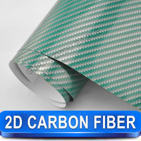 Hot Selling 2d Carbon Vinyl Wrapping Film For Car Decoration / 1.52 M