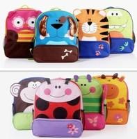 Hot sale!! 8 design Cartoon Backpacks Kids Bags 600D Oxford Canvas School Bags