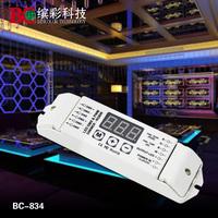 DMX512 Decoder LED RGB+W strip decoder / RGBW 4ch DMX Decoder