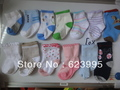A120 100% cotton 0~2  years old baby Candy socks,cute Children's Sock , tights,Wholesale,colorful, drop shipping(China (Mainland))