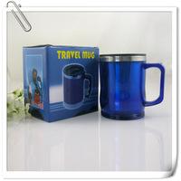 Free shipping 14OZ Stainless steel coffee cup coffee mug travel mug  insulated drinking cup
