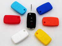 Silicone Key Cover Protective Hold Bag Fits For VW JETTA GTI MK6 Golf R SCIROCCO 10Pcs/Lot