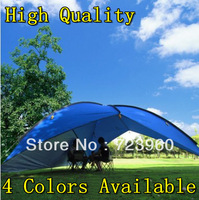 Canvas Outdoor fiberglass awning sun-shading tentorial beach retractable waterproof canopy the tents event party camping tent