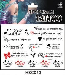 Временная татуировка 052 hsc052 178 купить временная регистрация через уфмс