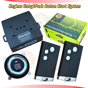 NEW! passive keyless entry&push button start system,remote start/stop,10 minutes countdown engine off,smart key car alarm