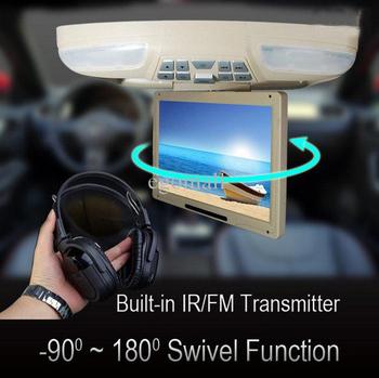 "- 12.1"" Flip down Multi-media Car DVD Player(Roof Mount DVD player)CL-1201RD  S661"