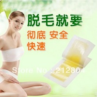 2013 Hot  Hair Removal Depilatory Nonwoven Epilator Wax Strip Paper Pad Patch Waxing For Face / Legs / Bikini