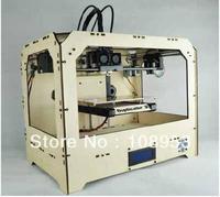 Desktop digital 3D printer, printing machine with double extruders