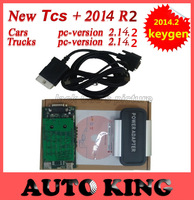 Fast Free Shipping ! Newest version 2014.02  for Gold color tcs cdp pro scanner for Cars & Trucks  3 in 1 from factory price!