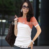 Hot Selling New Summer Lady Short Sleeve T Shirt Tees, 6 Colors, L, XL