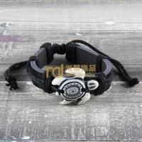 12pcs Cheap Sales Nepal Jewelry Cowhide Bracelet Recommend Genuine Leather Bangle Tortoise B0158