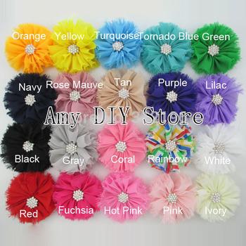 Free Shipping!40pcs/lot 2014 fashion Hair accessories,Ballerina flowers,Shabby Chiffon Flowers,Flower hair ties/Headband/corsage