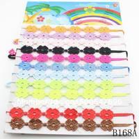 Min. order $10(mix items) wholesale 2014 multi colors lace macrame bracelet jewelry for women