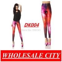 Free Size Wholesale Fashion Women Galaxy Leggings Space Print Pants Galaxy  Black Milk MADE TO ORDER