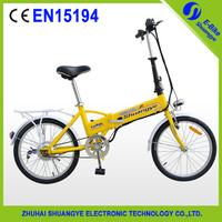 "20""7speed ebike  36v 11ah hidden battery folding electric bike"