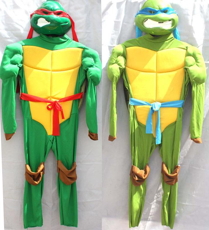 Pelicula Halloween Cosplay Teenage Mutant Ninja Turtles Costume For Boys Lycra Children Full Bodysuit Fantasias Infantil TMNT(China (Mainland))