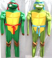 Pelicula Halloween Cosplay Teenage Mutant Ninja Turtles Costume For Boys Lycra Children Full Bodysuit Fantasias Infantil TMNT