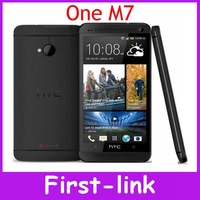 Original Unlocked HTC ONE M7 801e Android mobile phone 4.7 inch Touch Screen 32GB storage 4G network Free shipping in Stock