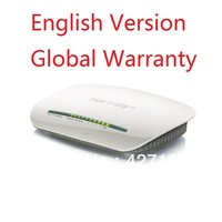 English version Tenda W268R 150Mbps WiFI Wireless-N 4 Ports Router b/g/n 2.4Ghz, DSL broadband N internal antenna, access point
