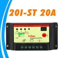 20A Solar Controller 12V 24V Solar Panel charger controller Battery protection Light Timer control for solar street lights LED
