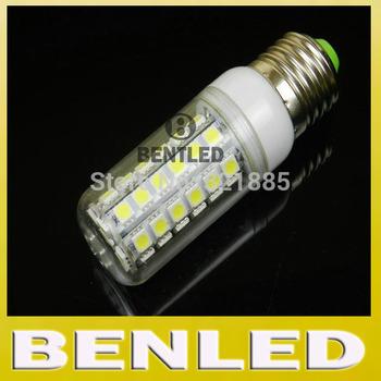SMD 5050 E27 220V 10W LED lamp 48pcs 5050 SMD LED Corn Bulb Light,with retail package E27 SMD 5050 LED Light  free shipping