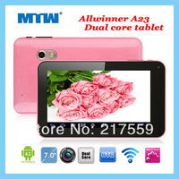 Android 4.2.2 7inch tablet PC Allwiiner A20 Dual-Core 512MB/4GB