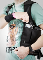 RIMIX Original Design FBI Outdoor Bag Mini EDC Bag Hidden Underarm Shoulder Bag Waist Pack
