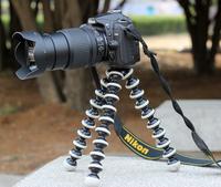 2013 1PC Free Shipping Brand New Medium-sized Light Weight Universal Flexible Camera Octopus Tripod