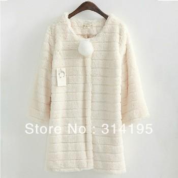 2 color wholesale low price Free\Drop Shipping 2013Autumn lady fur Winter Warm fur Coat women long outerwear faux hyp8992