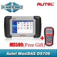 2014 Original Autel MaxiDAS DS708 Automotive Diagnostic System Free Update Online and Multi-Language DHL Fast Shipping