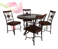 Pinyou Home, Dinette, table and chairs, wooden, dinning room set, dinning room furniture, JS-1