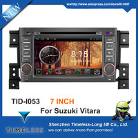 Android OS 2 Din A8 Chipset 3G Wifi Car DVD Player GPS For Suzuki Grand Vitara 2006-2012 V-20 Disc 1GB CPU DDR 512M RAM