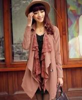 Free Shipping 2014 Autumn Women's Autumn Laciness Detachable Fashion Trench Belt  0827