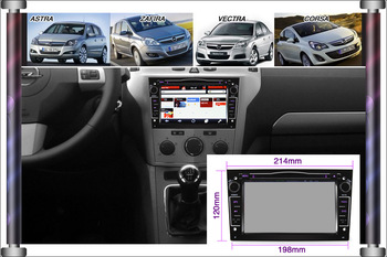 ks1081 2 din Car DVD Radio For Opel Astra Zafira Vectra with gps 7inch HD Car player WiFi 3G DVB-T IPOD free map+free shipping