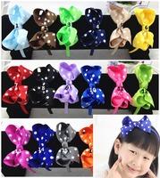 50pcs/lot 16 colors ,4.5 inch hair bows ,hair ornaments,hairband,headband,headband girl,headband with flower,korean style