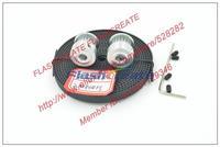 Hot Sale 2 x 20teeth GT2 Pulley and 2meters GT2 open Belt for RepRap 3D printer Prusa i3 Mendel