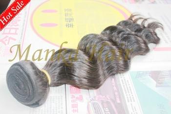 Cheap Brazilian Virgin 100% Human Real Hair  Body Wave 1b# Natural Black Color 100g/pc=3.5oz/pc