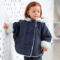 Top quality Warm Baby Girl Coats /Baby outwear baby clothing thicken winter jacket  suit for Autumn&Winter Free Shipping