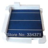 20pcs A grade Poly Solar Cells 6x6 3.8-4.0W PV Kits tabbing bus wire flux pen diodes For DIY solar Panel Free shipping