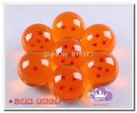 DragonBall 7 Stars Crystal Ball  Dragon Ball Z Balls 7PCS/SET 1:1Movie 7CM children gift  Free shipping
