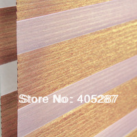 Silver 7 Layer Rainbow Blinds Zebra Blinds Double layer shutter fabric blinds curtain louvers