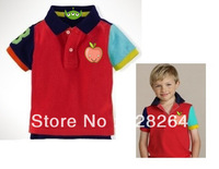 Free shipping! Wholesale discount! Children's clothing baby boy  classic children's summer short-sleeved T-shirt