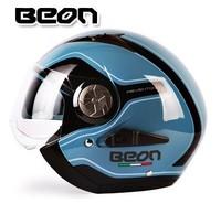 2015  New BEON B216 motorcycle helmet / half helmet dual lens men and women