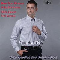 free shipping men's shirt,new fashion men's long casual shirts slim fit cotten clothing big size XXXL dress shirts for men 2013