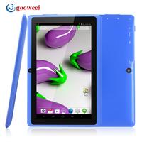 Gooweel Q8H Bluetooth A23 Dual core tablet pc android 4.2.2 1.5GHz RAM DDR3 512MB ROM 4GB Dual Camera WiFi OTG Freeshipping
