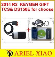 Pruebas en serio antes del envío 2014 R2 como regalo en CD TCS scanner pro cdp + con LED y función de vuelo(China (Mainland))