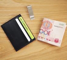 Caso do cartão de crédito couro dos homens LAN grátis frete caso de cartão de banco titular do cartão de crédito venda quente ID viagem do titular do cartão caso(China (Mainland))