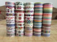 1591  ! pattern free shipping Promotion -- Colorful Printing masking Tape  Printing adhesive Tape for DIY
