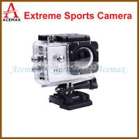 Original SJ4000 Mini Action Camera Full HD DVR  DV 30M Waterproof Extreme Sports Helmet 1920*1080P Camcorder  Multi Color Choice